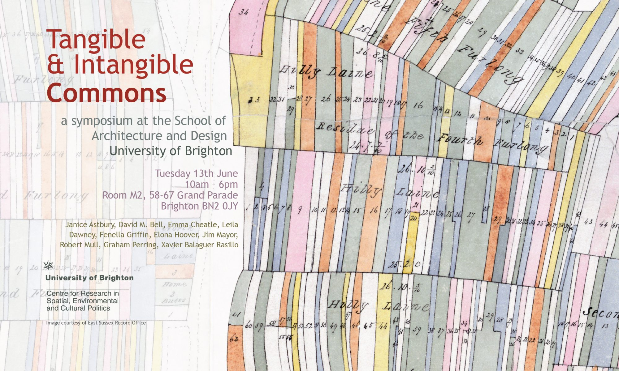 Tangible & Intangible Commons